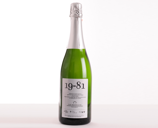 Cava Can Manelich Brut Nature 19-81